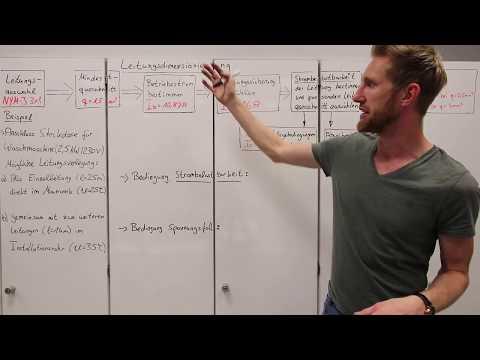 4.6.8 Kriterien zur richtig ausgewählten Leitung - Leitungsdimensionierung