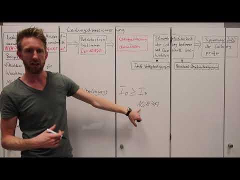 4.6.4 Leitungsabsicherung auswählen - Leitungsdimensionierung