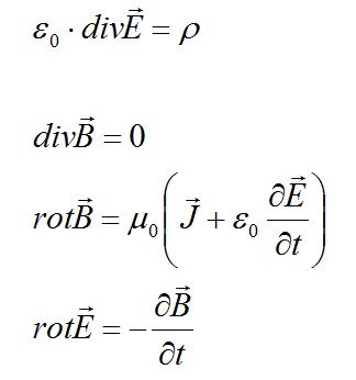 Maxwell Gleichungen